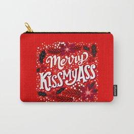 Merry Kissmyass Carry-All Pouch