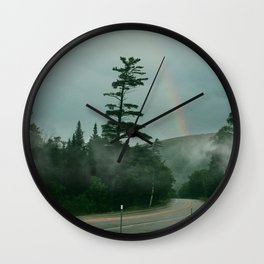 White Mountains Wall Clock