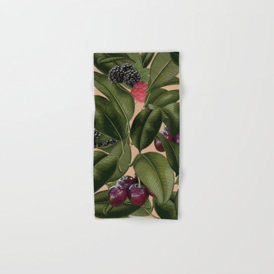 FRUITS AND LEAVES Hand & Bath Towel