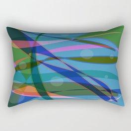 Abstract #355 Rectangular Pillow