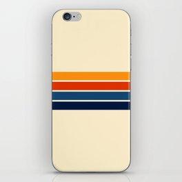 Classic Retro Stripes iPhone Skin