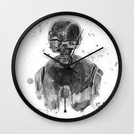 Silly Droid Wall Clock