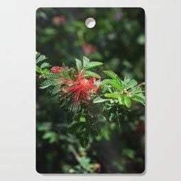 Red Desert Flower Cutting Board