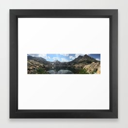 Bluebird Lake Framed Art Print