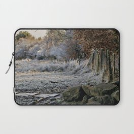 Cold frosty morning Laptop Sleeve
