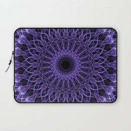 Detailed violet mandala Laptop Sleeve