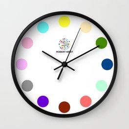 Robert Hirst Spot Clock 6 Wall Clock