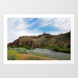 Outside Cody, Wyoming Art Print