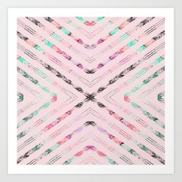 VALENCIA DESERT Art Print
