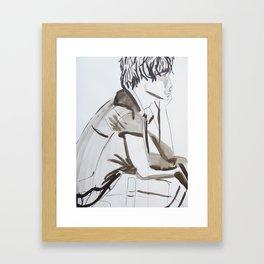 Surfer Boy 2 Framed Art Print