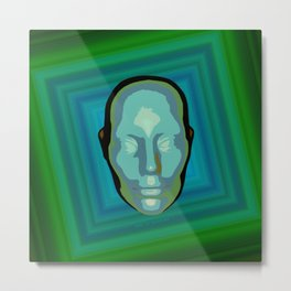 being green Metal Print