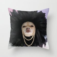 Chihuahua Vogue  Throw Pillow