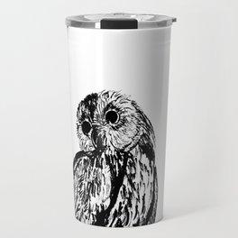 Wow, an owl! Travel Mug