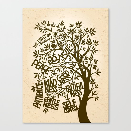 The Fruit of the Spirit (I) Canvas Print