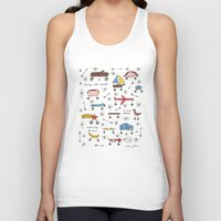 things with wheels Unisex Tank Top