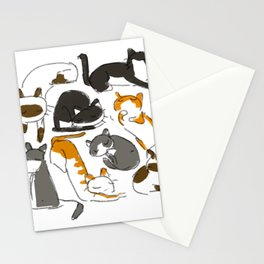 Little Meows (with mittens) Stationery Cards