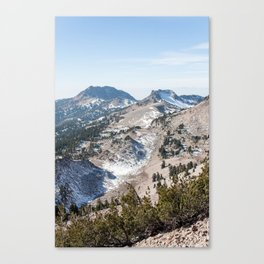 Brokeoff Volcano  Canvas Print