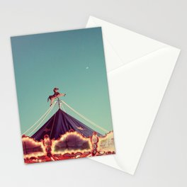 Crescent Moon Over Paris #2 Stationery Cards