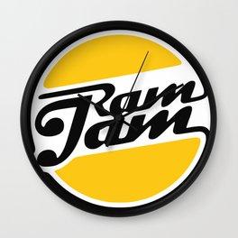 Ram Jam Wall Clock