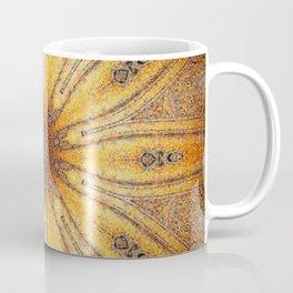 Bright Antique Gold Mandala Coffee Mug