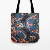 oriental Tote Bags featuring Oriental by Shereen Yap