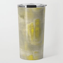 Stasis Gray & Gold 2 Travel Mug