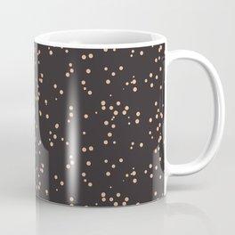 Beige Brown Shambolic Bubbles Coffee Mug