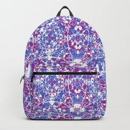 Cracked Oriental Ornate Pattern Backpack