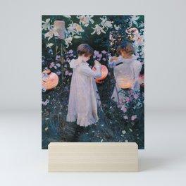 Carnation, Lily, Lily, Rose Mini Art Print