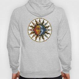 Celestial Mosaic Sun and Moon COASTER Hoody