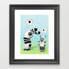 Lally Lama Framed Art Print