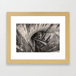 Dam Reticulation Framed Art Print