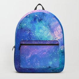 Cloud Galaxy with Stars Backpack