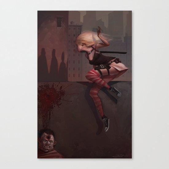 Bambi the Zombie Slayer Canvas Print