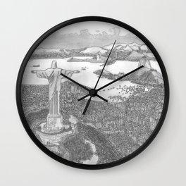 Rio de Janeiro (Brazil) Wall Clock