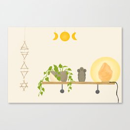 Minimalist Altar Canvas Print