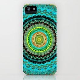 Bliss Mandala iPhone Case
