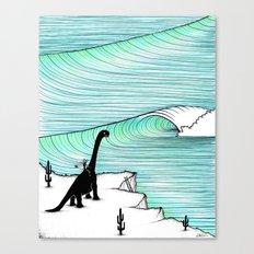 Surf Check Canvas Print