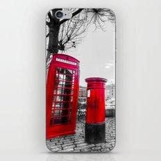 Post Box Phone Box iPhone & iPod Skin