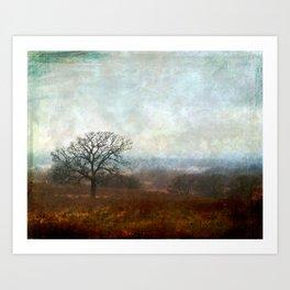 In The Mist Art Print
