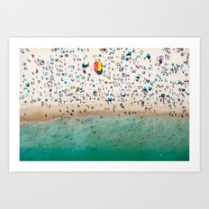 Bondi Rescue Art Print