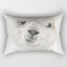 PEEKY ALPACA Rectangular Pillow