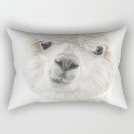 PEEKY ALPACA Rectangular Pillow