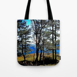 Trees, Daylight Stoney Hill Tote Bag