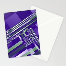 another crazy pattern -104- Stationery Cards