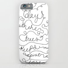 a day with the trees Slim Case iPhone 6s