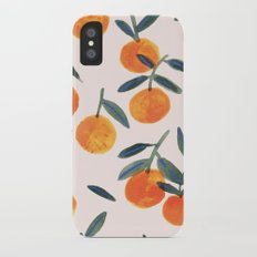 Clementines iPhone X Slim Case