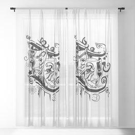 Zodiac - Gemini Sheer Curtain