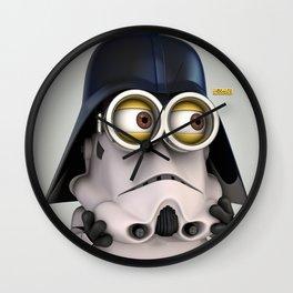 Minion Vader Wall Clock
