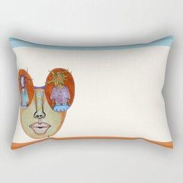 LADY Glasses Rectangular Pillow